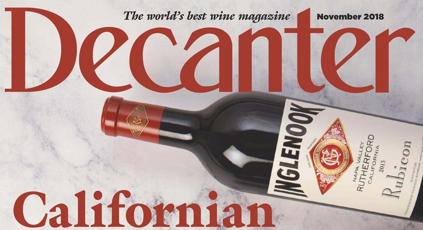 Decanter Cover Nov 2018