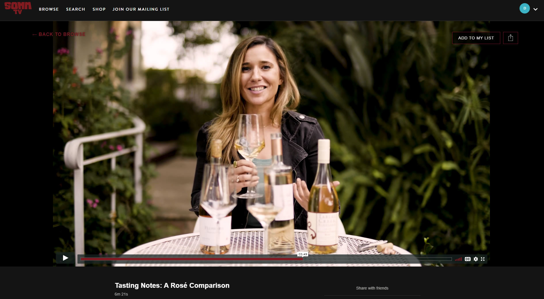 Somm Tv With Claire Coppi