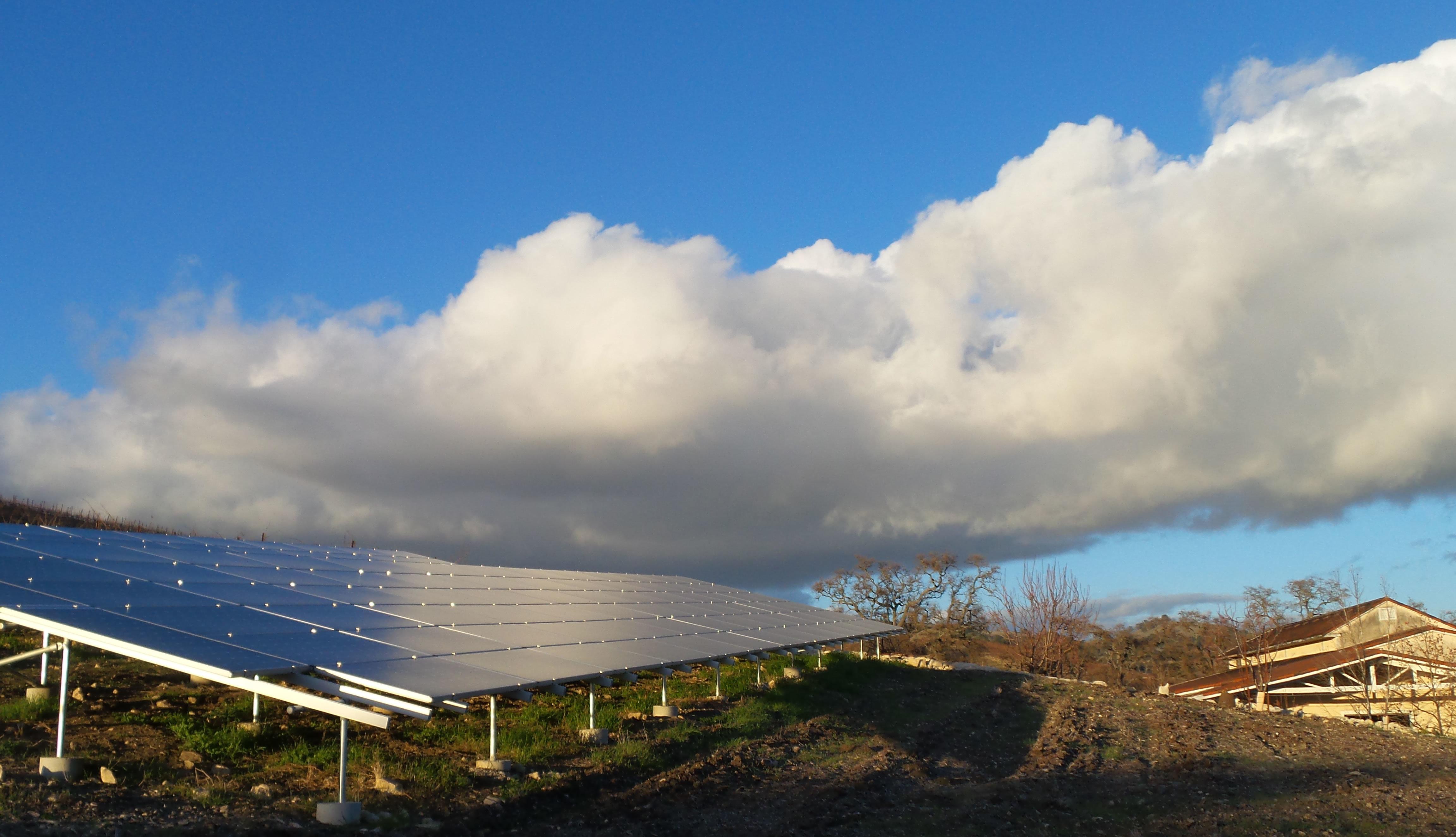 Tablas Creek Solar Array
