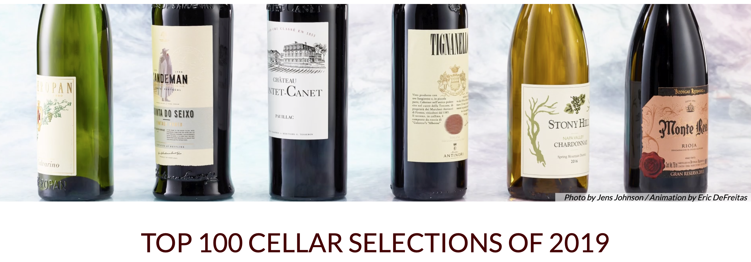 Top 100 Cellar Selections Of 2019