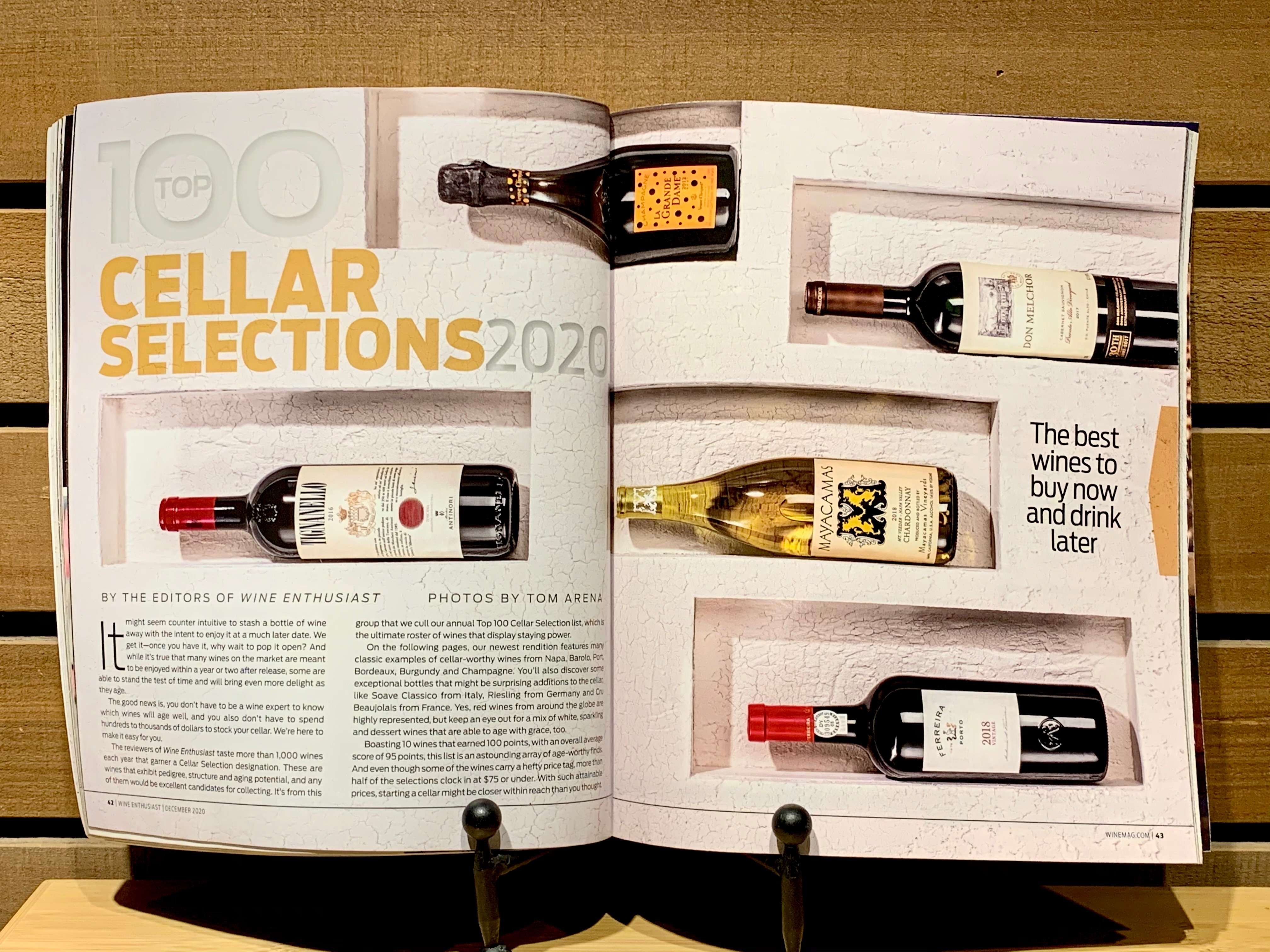 Wine Enthusiast Cellar Selections