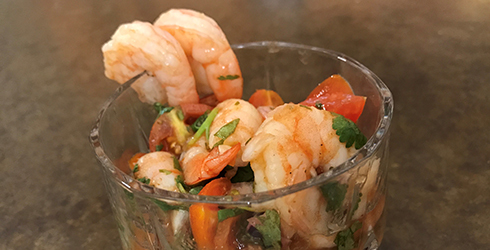 Image of Spicy Orange Shrimp Ceviche